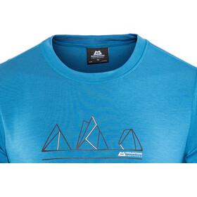 Mountain Equipment M's Triple Peak Tee Alto Blue